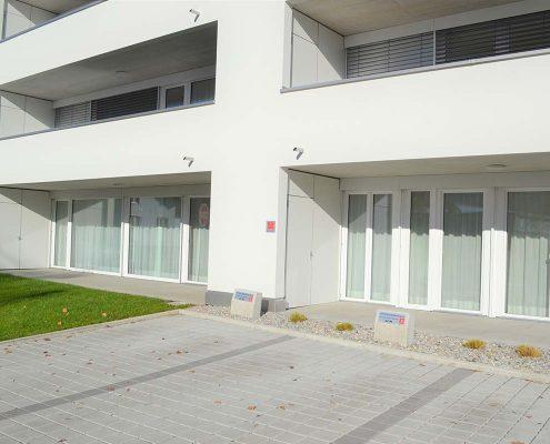 Patientenparkplätze Praxis Wilhelm Götzis